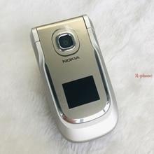 Nokia 2760 Золотой разблокированный мобильный телефон 2G GSM старый Восстановленный телефон и гарантия