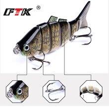 FTK Bass Fishing Lure 84mm/11g Wobblers Tackle 1pc Multi Segment  Assorted Floating Swim Bait Hard Sinking Topwater Crankbait HF