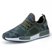 Men Casual Running Shoes Spring Summer Camouflage Sneaker Fashion Man Shoes Hombre Army Green Mens Shoes Casual Footwear