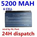 6 células 4400 mah bateria do portátil para acer extensa 5220 7220 travelmate 5530 5520 5320 tm5720 tm7520 tm7720 tm00741 tm00751