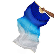Fan Veil Belly Dance Accessories Professional Bellydance Chinese Slik Fans 1 Pair Stage Prop For Women