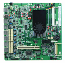6 Lan Intel Atom D2550 Mini-Itx Motherboard With BYPASS Firewall Motherboard FOR 1u