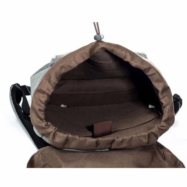 European American Style Backpacks Black Unisex Backpack Men Canvas Backpack Women School Backpacks Laptop Travel Bag 4