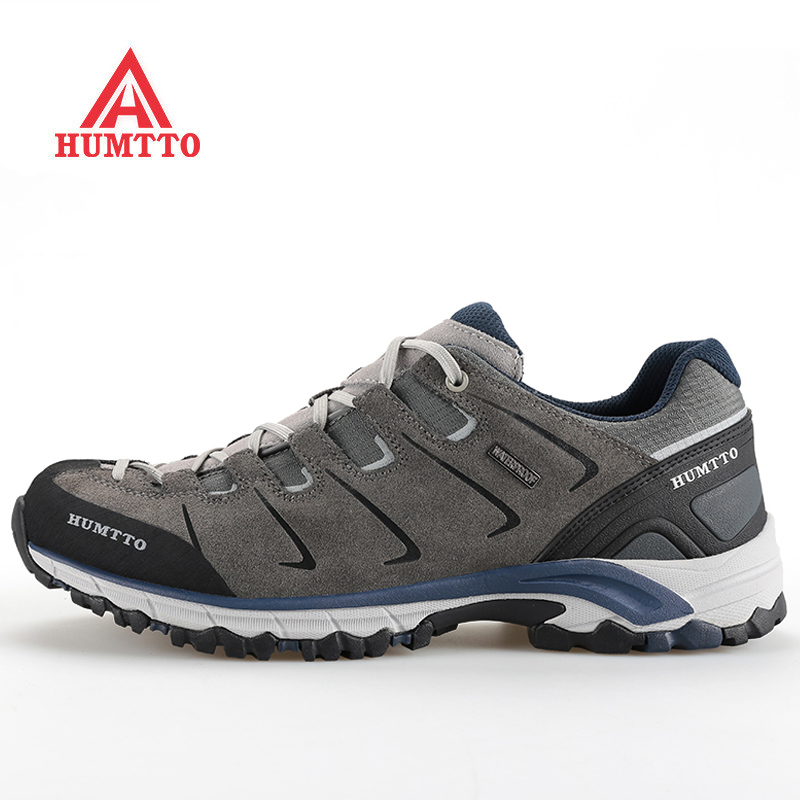 HUMTTO Outdoor Hiking Shoes Man Brand Climbing Mountain Trekking Sport Shoes For Men Camping Men's Sneakers Large Size 39-48 jbl synchros e30