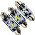 NO ERROR!! 2pieces/lot Canbus 14W Error Free Dome C5W 7W * 2 36mm 39mm 41mm 6000K Led Festoon Lamps Auto Led License Plate lamps