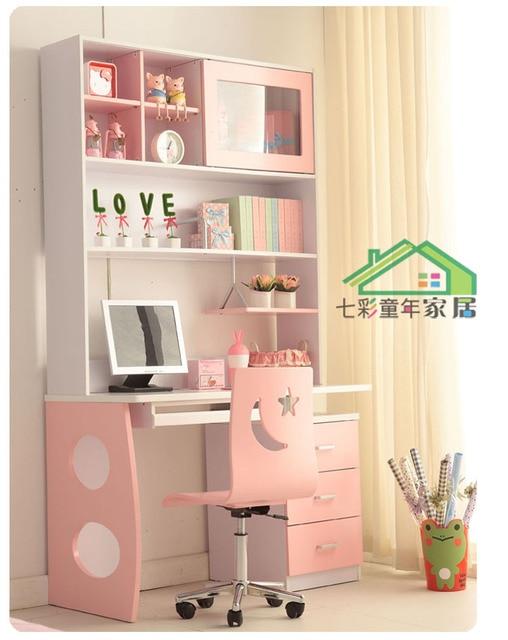 Children S Furniture Princess Suite Desk Computer Study Tables Desks Bookcases