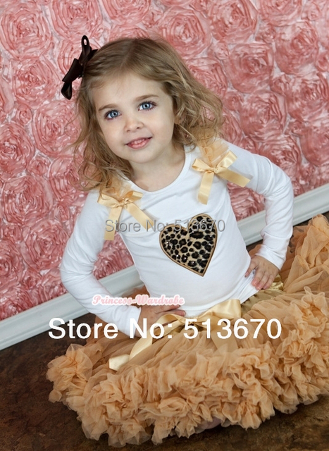 Free Shipping Premium Pettiskirt Skirt Petti Party Dance Tutu Skirt Girl 1-8Y-Goldenrod Yellow