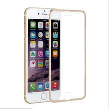 10 pcs 3D full cover protective glass for iphone 6 6s 7 8 plus x Aluminum alloy screen protector tempered glas
