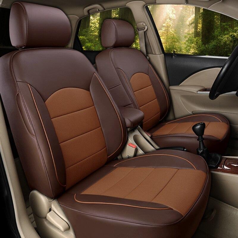 На свой вкус авто аксессуары класса люкс ручной работы, изготавливаемая на заказ кожаный чехол автокресла для CITROEN C4 C5 C6 C5 AIRCROSS C4 Picasso Xsara из в