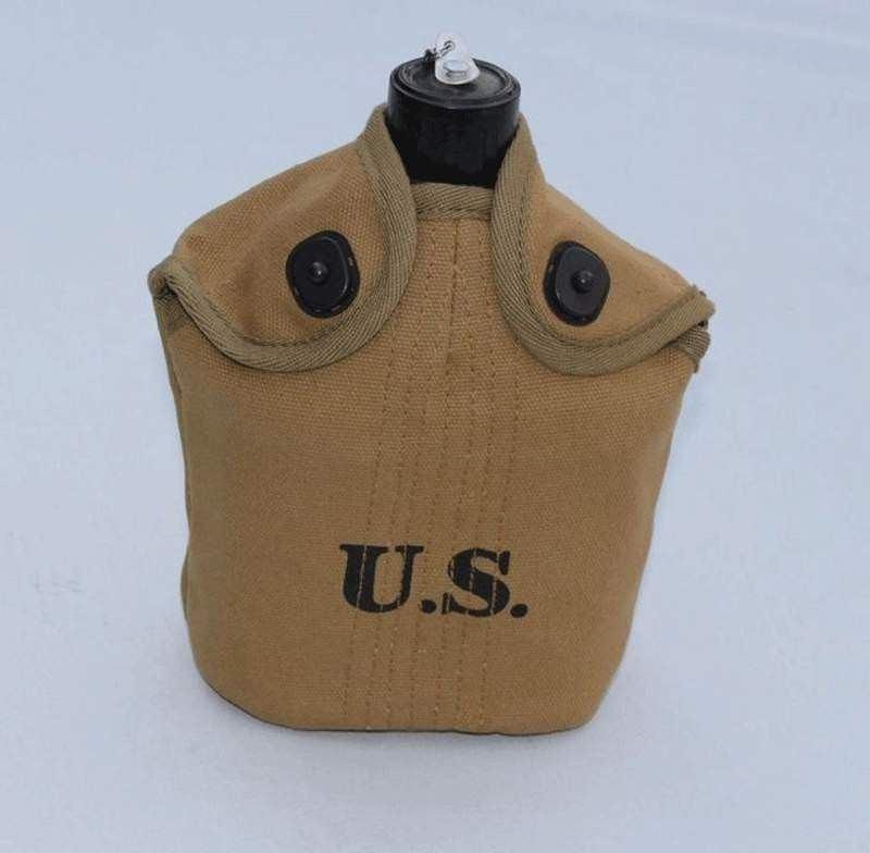 WWII WW2 US ARMY G.I M1 Carbine Equipment Full Set M1928 Haversack Canteen Belt
