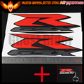 For SUZUKI GSXR 600 750 1000 1100 FAIRING DECALS STICKERS TANK BIKE MOTORCYCLE GSX-R Reflective Sticker Vinyl Decal Logo Badge