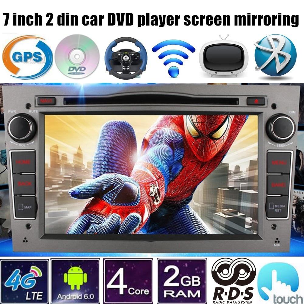 For Vauxhall <font><b>Opel</b></font> <font><b>Astra</b></font> H G <font><b>J</b></font> Vectra Antara Zafira Corsa Android 6.0 Car DVD radio player Stereo GPS touch screen 4G LTE