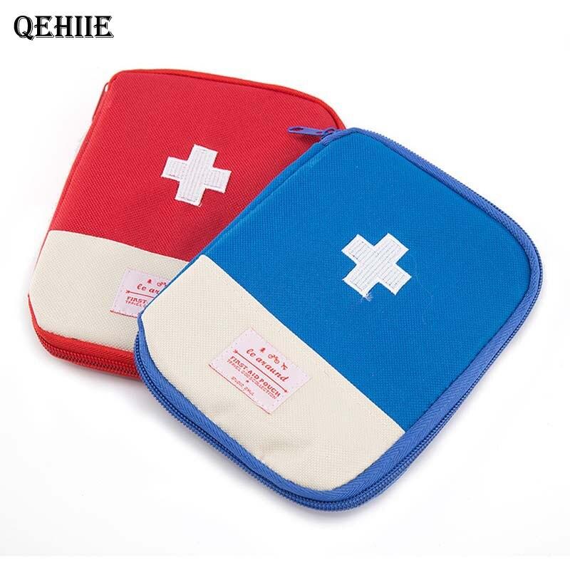 Envío gratis bolsa de viaje portátil kits médicos kits de primeros auxilios medicamentos clasificados paquete de admisión clasificación escombros abierto medicamento