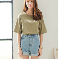 Plus Size Vintage Summer Cheap High Waist Short Jeans Casual Denim Shorts Female Loose Sexy Jeans