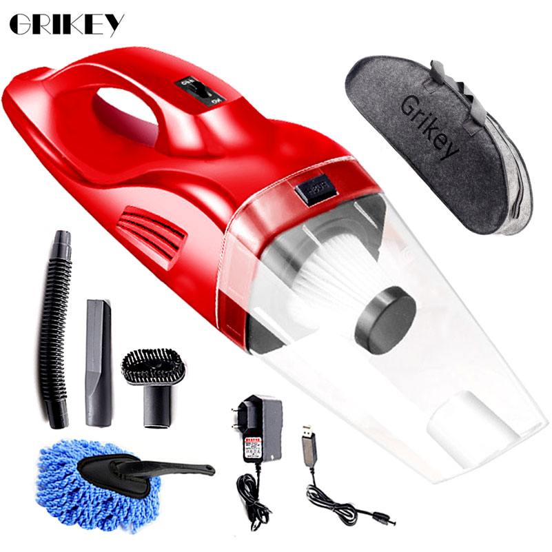 Grikey Vacuum Cleaner Cordless USB Rechargeable Portable 120W Handheld Vacuum Cleaner For Car /Home Dry Wet Mini Vaccum CleanerGrikey Vacuum Cleaner Cordless USB Rechargeable Portable 120W Handheld Vacuum Cleaner For Car /Home Dry Wet Mini Vaccum Cleaner