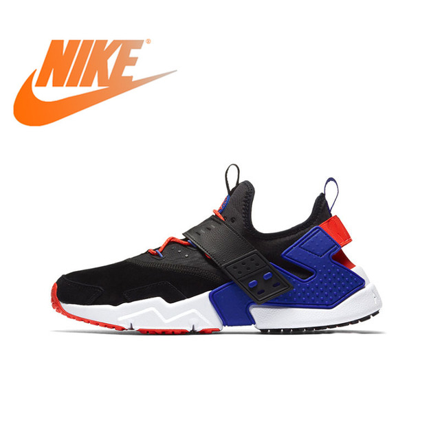 2ae37d149e4523 Original Authentic NIKE AIR HUARACHE DRIFT PRM Mens Running Shoes Sneakers  Comfortable Breathable Outdoor Athletic jog AH7335
