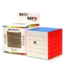 Moyu MF6 Cubing класс 6×6 магический куб без наклеек Professional Puzzle Скорость Cube 6x6x6 Cubo Magico игрушечные лошадки для детей