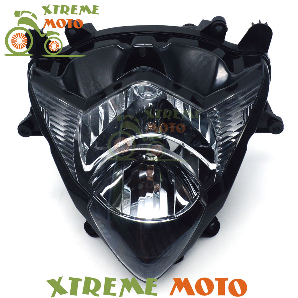Motorcycle Front Headlights Headlamps Head Lights Lamps Assembly For GSXR 1000 GSXR1000 K5 2005 2006 SupermotoMotorcycle Front Headlights Headlamps Head Lights Lamps Assembly For GSXR 1000 GSXR1000 K5 2005 2006 Supermoto