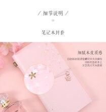 ZAMXSakura Style Planner Stationery Supplies Traveling School Journal Fashion Decor Ideal for Gift Girl s Gift