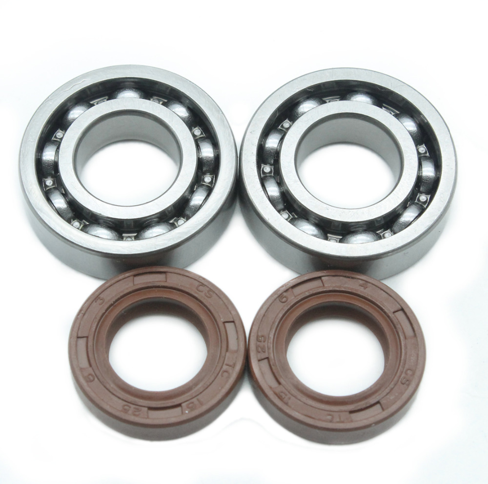 Crankshaft Ball Bearing Oil Seals Kit For Stihl 017 018 MS170 MS180 MS 170 180 Chainsaw Replace 9503 003 0311/9638 003 1581