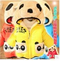 Retail Hot 1pc Children Clothing panda Cartoon Outwear Child Boy Winter Wear Thickening Outerwear Coat Kids cotton-padded jacket