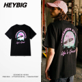European Hot T-shirts life is great sea summer print Tee Casual Holiday Tops HEYBIG hiphop Men Shirt Asian Size Streetwear THDX