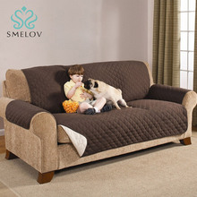 1/2/3 Seater Waterproof Quilted Sofa Covers for Dogs Pets Kids Anti-Slip Couch Recliner Slipcovers Armchair Furniture Protector waterproof sofa cover 2019 new couch slipcover for pet kid recliner armchair anti slip furniture washable protector 1 2 3 seater