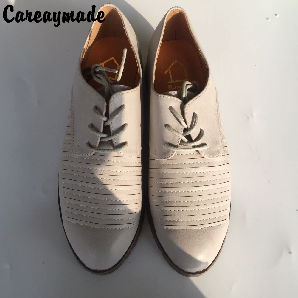 Korean Ladies Shoes tide 2016 New England College wind shoes Sen Department of shoes lace neutral handsome shoes,2 colors