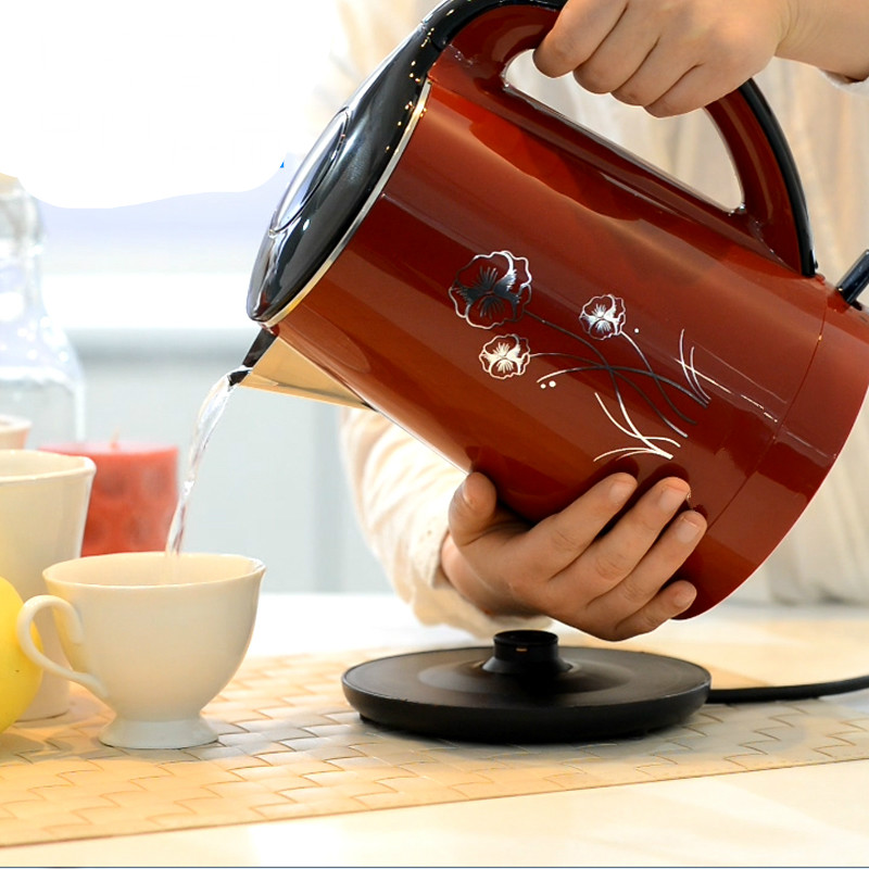 Electric kettle 304 stainless steel electric home heating for water electric kettle 304 stainless steel water proof for seamless internal urchin