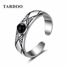 Tardoo Haute Qualité 925 En Argent Sterling Marque Anneaux Ouverts pour les Femmes et Dames Élégant Rétro Fine Jewelry 2016