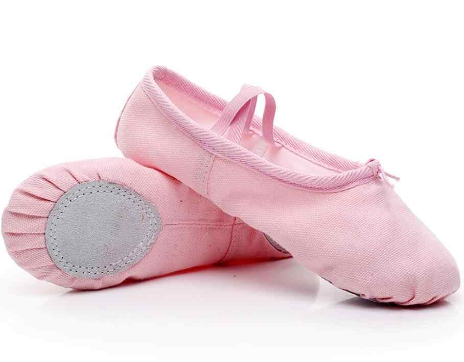 מקצועי בלט ריקוד נעלי יוגה נעלי בית מקורה פעילות גופנית נעלי עבור בנות נשים בד Falt בלט ילדי ריקודי ילדה נעליים