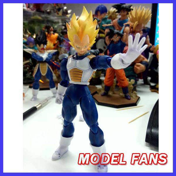 MODEL FANS IN-STOCKDatong dt shf model Dragon Ball Z Super Saiyan Vegeta chinese version SHF Action Figure Free shipping free shipping 5pcs pm6640 ball feet in stock