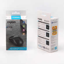 Rapoo 6020B Bluetooth wirelrss Mouse for PC, apple & Windows7/8/10 Tablets , Notebook, PC, Laptop, Computer, Macbook - White