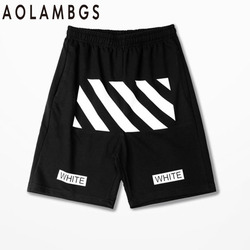 Aolamegs men classic black shorts 2016 summer new tide brand men fashion casual sporting hip hop.jpg 250x250