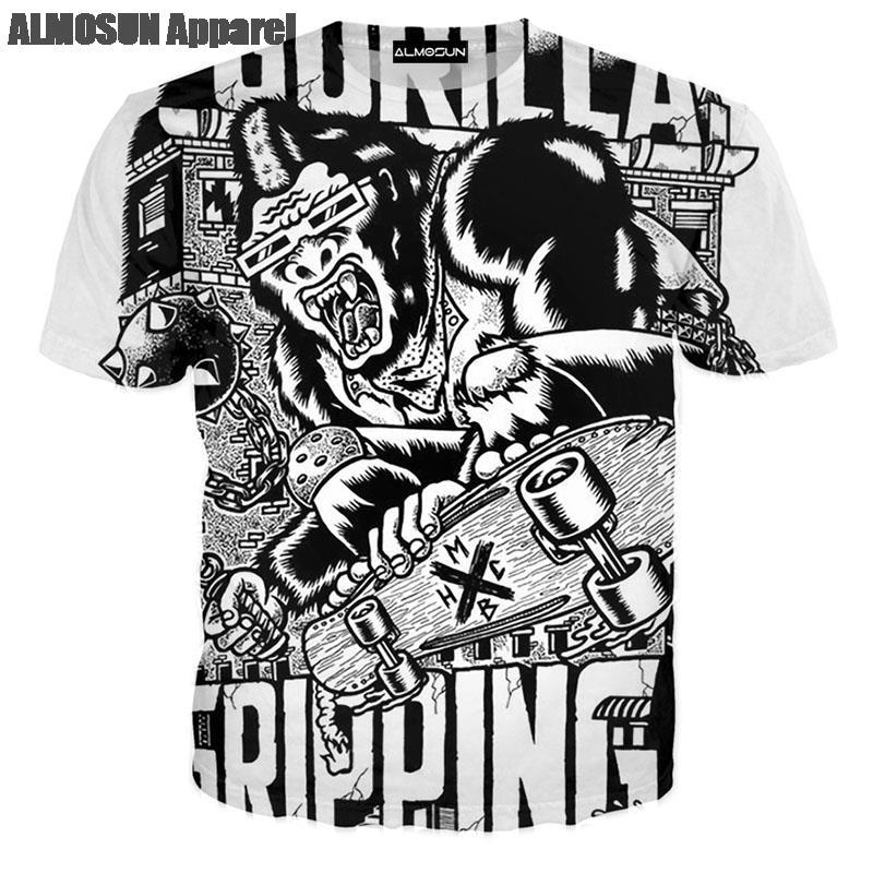 Online Get Cheap Girl Skateboards T Shirt -Aliexpress.com ...