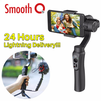 Zhi Yun Zhiyun Smooth Q 3 Axis Handheld Smartphone Gimbal Stabilizer Portable Tripod Stand For Iphone