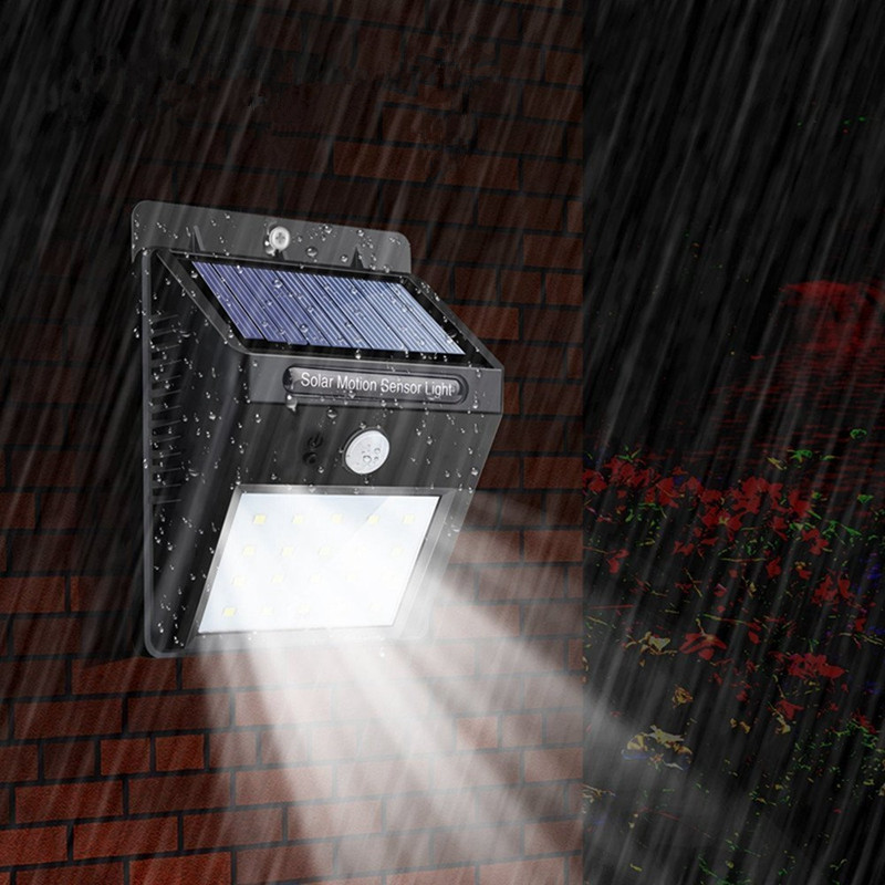 2pcs 20 LED Solar Powered PIR Motion Sensor Waterproof Wall Security Light Lamp Home Garden Outdoor Path Lights Auto ON/OFF 2 in 1 solar powered led spotlight super bright outdoor lamp 8 led waterproof type adjustable auto on auto off security light