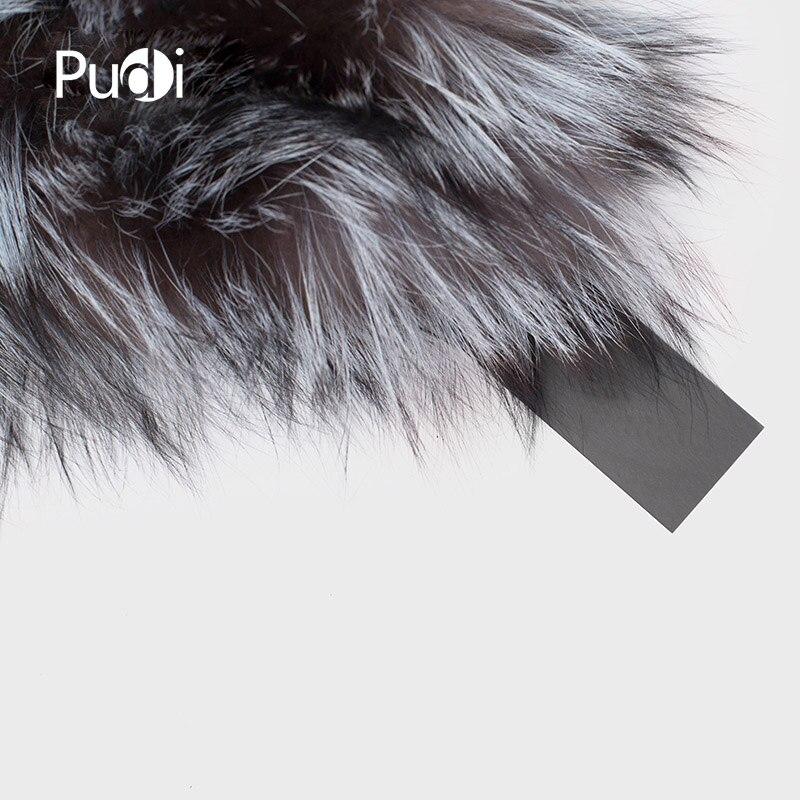 Pudi SF717 2018 Winter Mädchen echte Fuchspelz Schal Marke neue - Bekleidungszubehör - Foto 6