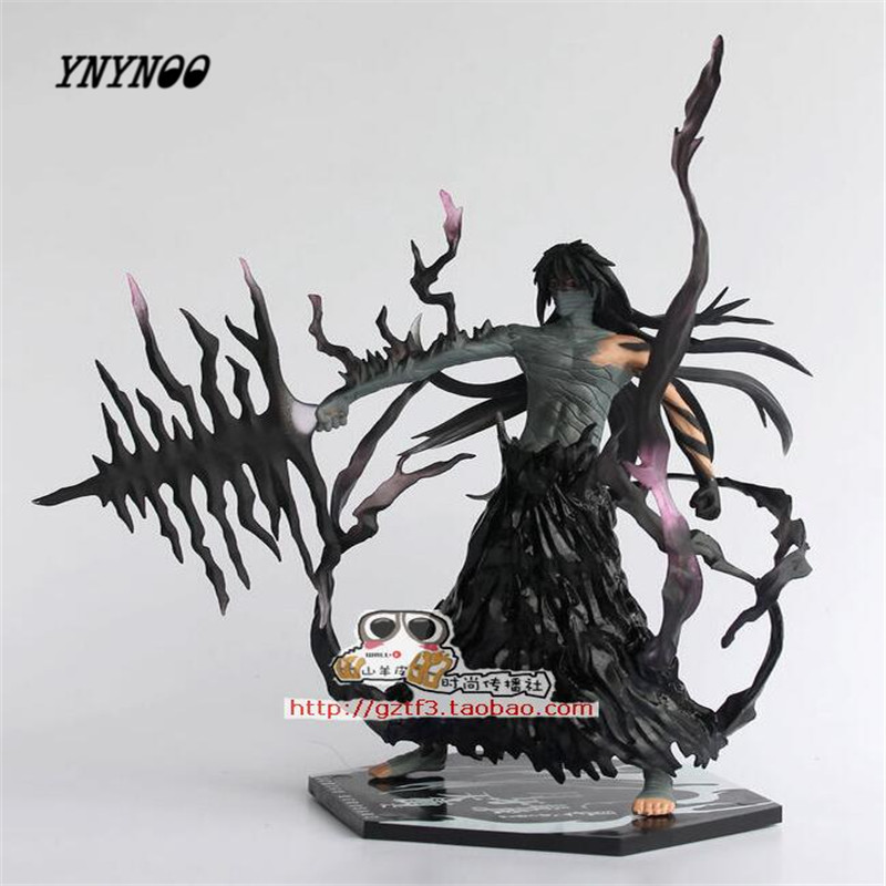 YNYNOO Hotsell 20cm PVC Japanese Anime figures Cartoon Cool 7 Bleach Kurosaki Ichigo dolls Action Toy Figures Collectible Model