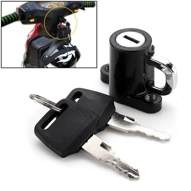 Universal Motorcycle Motorbike Bike Helmet Lock Hanger