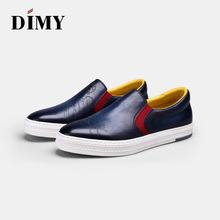 DIMY mens shoes British business casual dress leather tide