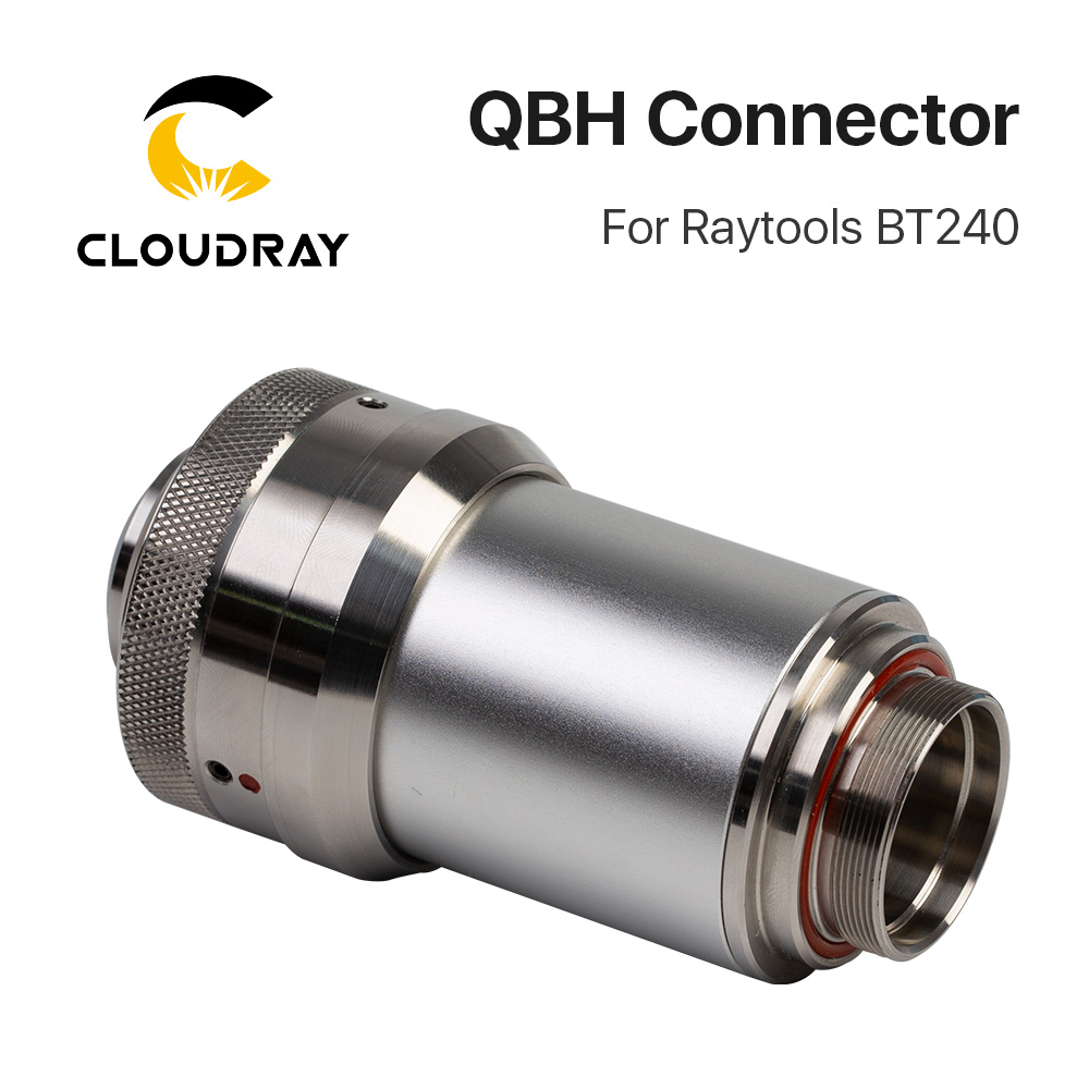 Cloudray QBH Connector of Raytools Laser Head BT240 BT240S For Fiber Laser 1064nm Cutting Machine