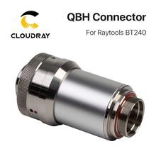 Conector de Cabeça Do Laser Raytools BT240 QBH Cloudray BT240S Para 1064nm Laser De Fibra Máquina de Corte