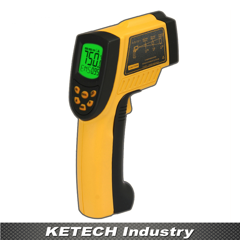 AR852B Non-contact Infrared Thermometer Temperature Tester цена