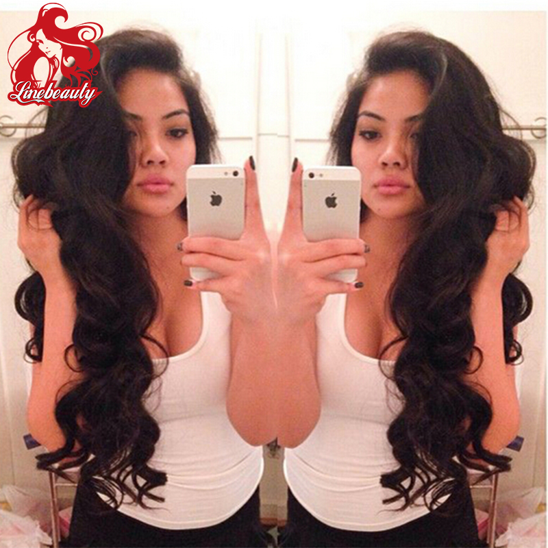 #1B Body Wave Synthetic Lace Front Wig Glueless Heat Resistant Hair Women Wigs New Arrival