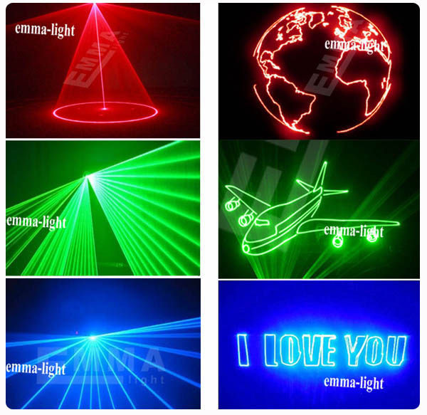 Online shop high power laser show 3w rgb animation writing outdoor machine picture aloadofball Gallery