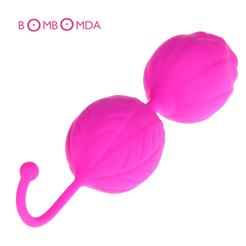 Silicone Kegel Balls Vaginal Trainer Vaginal Tightening Exercise Balls Massager Sex Products For Adults Smart Beads new leten10speed waterproof liquid silicone intelligent remote smart vaginal balls kegel vaginal tight exercise machine vibrator