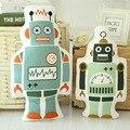INS Caliente Nuevo Soft Cartoon Juguetes de Peluche Oso Robot Almohada Del Bebé regalo Decorativo Almohadas para Niños Sala De Sofá Cama Cojín Envío Gratis