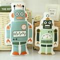 INS Hot New Robot Urso Travesseiro Bebê Dos Desenhos Animados Brinquedos de Pelúcia Macia Almofadas Decorativas de presente para As Crianças do Quarto Da Cama Almofada Do Sofá Frete Grátis