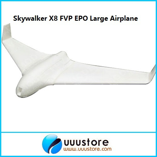 FPV Skywalker x8 white 2 meters epo large flying wing Best FPV airplane kit latest version skywalker white x8 airplane fpv flying wing 2122mm rc plane new arrival 2 meters x 8 epo large remote control toy